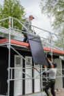Friskahusgruppen installation solceller10